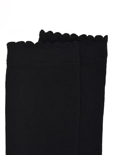 Pieces Çorap Siyah